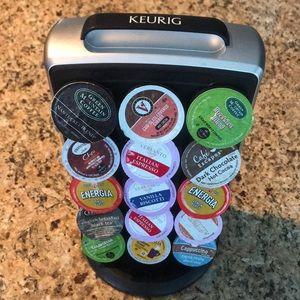 Keurig Carousel • Holds 30 K-cups*
